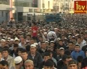 Молитва Ураза-Байрам во Москве